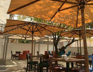 چتر چوبی قطر 4 متر