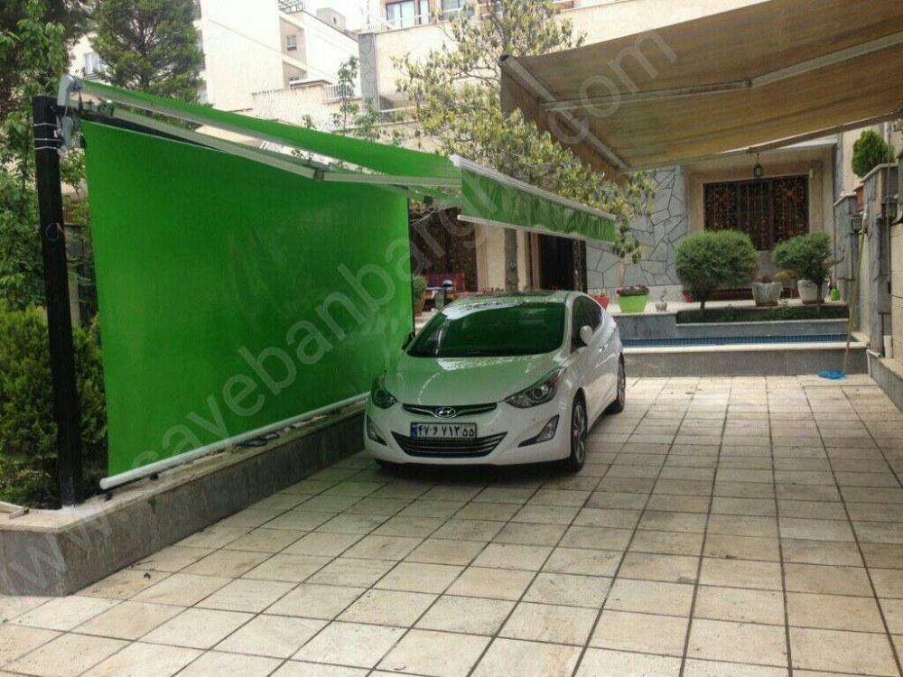 پروژه سایبان برقی و سایبان شید خودرو