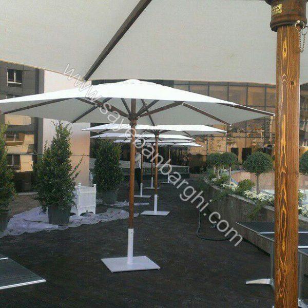 سایبان چتری مرکز خرید