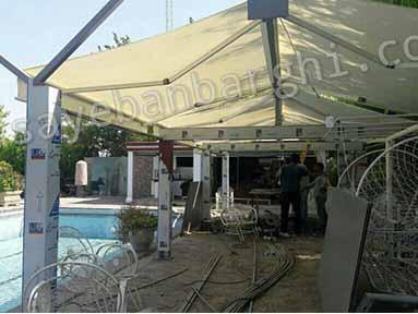 سایبان باغ آقای رمضانی (2)