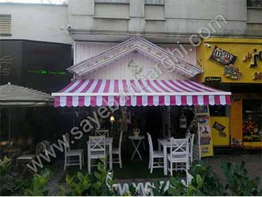 سایبان برقی کافه رز (1)
