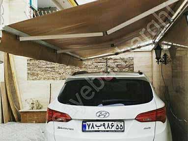 سایبان پارکینگ آقای سعادت (2)