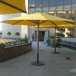 سایبان چتری مرکز خرید البرز