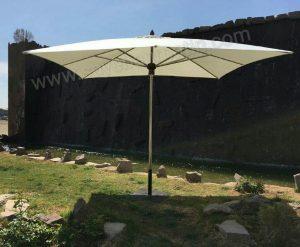 سایبان چتری استیل مربع