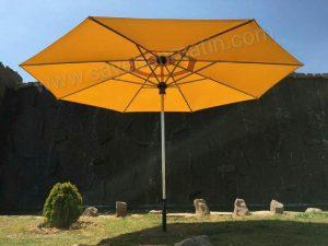 سایبان چتری استیل قطر 3