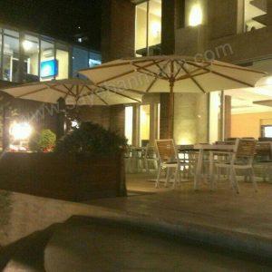 سایبان چتری مرکز خرید اطلس
