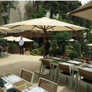 سایبان چتری رستوران شاندیز