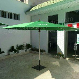 سایبان چتری استیل قطر 3 متر