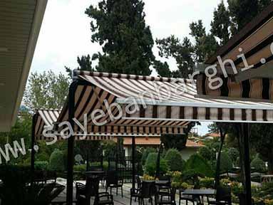 سایبان برقی رستوران تمیس (2)