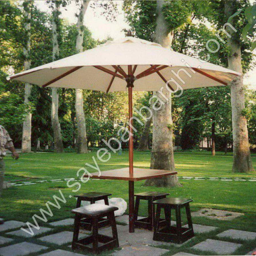 پوشش دهی فضاهای بزرگ با سایبان چتری